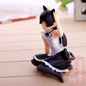 "Image 5 - Hot Gokou Ruri Comic Anime Oreimo Kuroneko Ore No Imouto Cute Sexy Sit Dream Tech 4"" Action Figure"