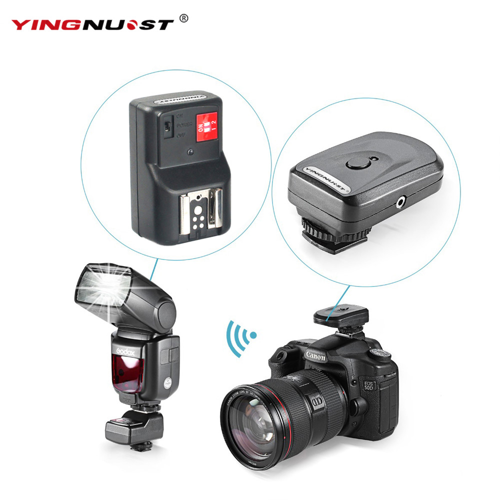 4 Channel Wireless Remote Radio Flash Trigger One Pc