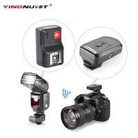 YINGNUOST 4 Canales de Radio Remoto Inalámbrico de Disparo de Flash + Una PC Receptor para Canon/Nikon/Yongnuo Cámara Universal Zapata
