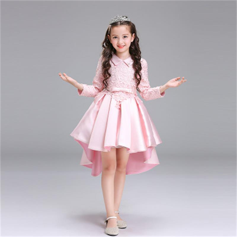 Princess Sofia Dress Girl Sofia Princess Purple long Dress Big Petals Sophia Princess Dress Cotton Kids Cartoon Party Dresses sofia princess kids dress lovely purple