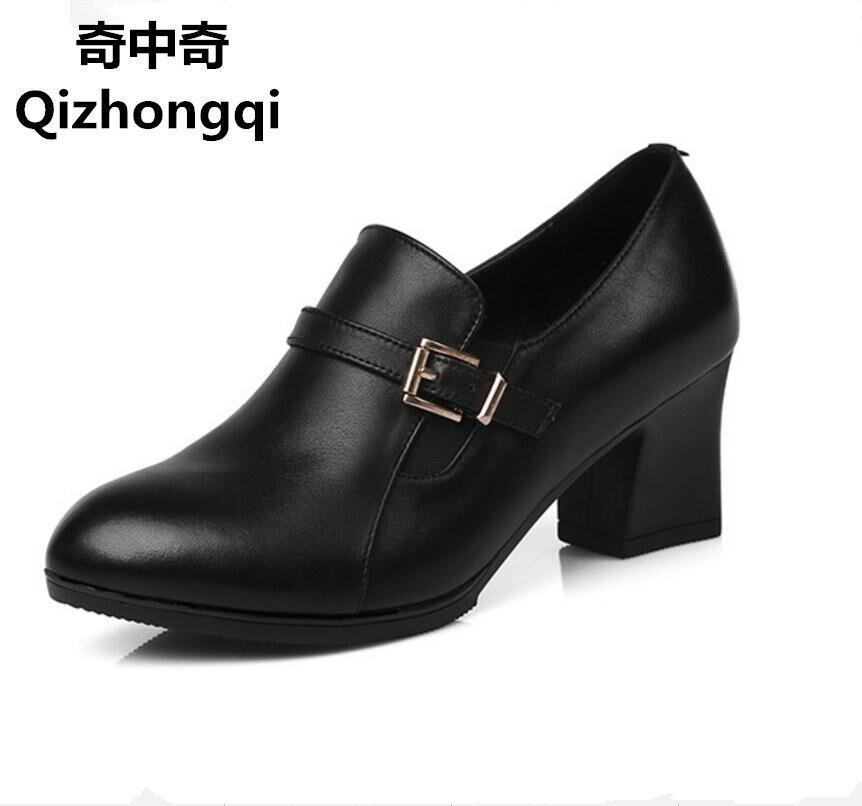 2016 sonbahar yeni kadın hakiki deri ayakkabı, iş takım elbise kadın ayakkabı, moda ve rahat kadın ayakkabı ücretsiz kargo