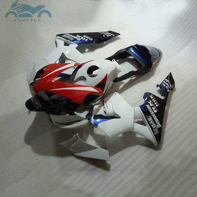 High grade Injection fairing kit fit for Honda CBR600RR 03 04 CBR 600 RR 2003 2004 fairing kits red white black bodywork NY22