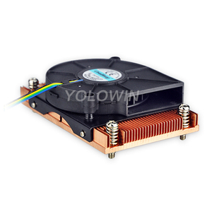 Image 2 - Active cooling Radiator Computer Cooling Products server CPU cooler Computer radiator Copper heatsink for Intel D9 01