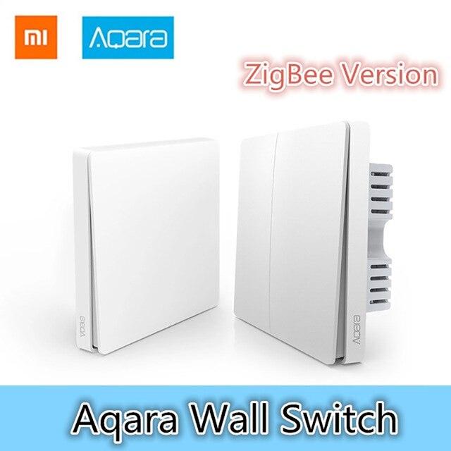 Xiaomi Aqara Wall Switch Smart Light Control ZigBee Version Wireless ...