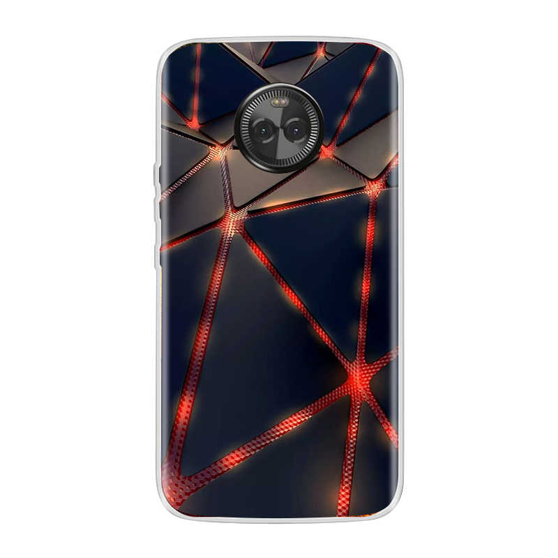 モトローラモト X4 ケースシリコーンソフト TPU モト X4 ため塗装パターン背面カバー電話ケース