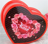 Heart Shape Music Box Pink Musical Box For Home Decor Best Gift