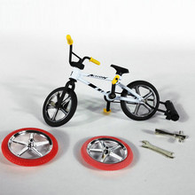 Mini Finger BMX Bicycle Flick Finger Bikes Toys BMX Bicycle Model Bike Gadgets Novelty Gag Toys For Kids Gifts(China)