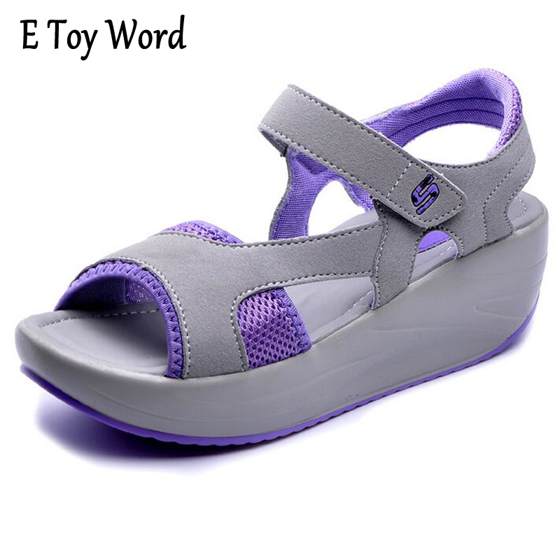 Hot Sale Platform 2017 Summer Sandals Female Open Toe Casual Sandals Mesh Breathable Shoes Woman Wedges sandale femme phyanic 2017 gladiator sandals gold silver shoes woman summer platform wedges glitters creepers casual women shoes phy3323