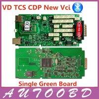 Nowy Vci TCS CDP VD BT OBD2 Interfejs Diagnostyczny Pojedyncze Wyżywienie + Instalacji Wideo SN100251 OBD OBD2/OBDII Auto Diagnostic Scanner Narzędzie
