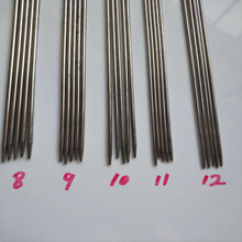 55Pcs 24cm Double Pointed Stainless Steel Knitting Needles Set DIY Craft Sewing Tools High Quality 11 Sizes