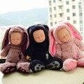 Nuevo de peluche de felpa muñeca bebé nacido toys para niños de silicona renacer realista bebés alive kids toys sueño reborn doll para niños de juguete