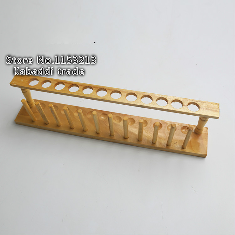 2pcs/lot wooden test tube rack 12 holes suitable for Diameter 21mm High Quality Dry formula test tube frame test tube stand 13mm 40 holes wire professional test stainless steel tube rack suitable for test tube of diameter 10mm 11mm 12mm 13mm