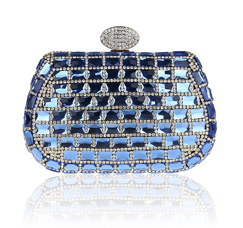 2016 High Quality Blue Evening Bag Womens Beaded Zircon Handbag Clutch Birthday Gift Party Purse Makeup Bag Mujeres Bolso 09922016 High Quality Blue Evening Bag Womens Beaded Zircon Handbag Clutch Birthday Gift Party Purse Makeup Bag Mujeres Bolso 0992