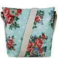 England style women shoulder bag A4 notebook bags floral messenger bags brand canvas school bags 7 kinds of color