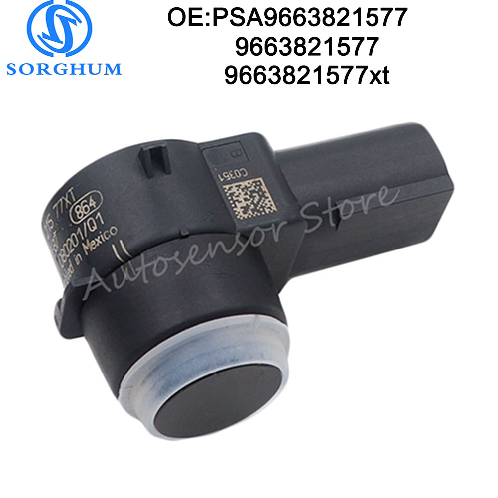PSA9663821577 Car PDC Parking Sensor For Peugeot 307 308 407 Rcz Partner Citroen C4 C5 C6 9663821577 9663821577XT 6590 EF 6590A5