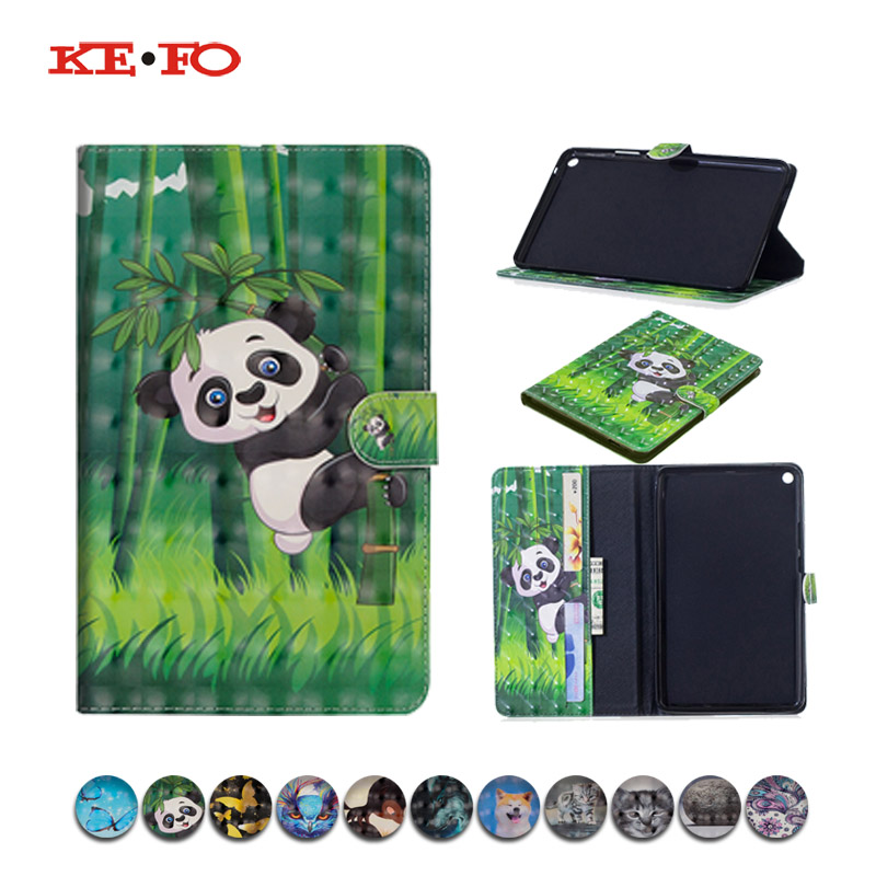 For Huawei Hediapad T3 8 Case Cover Funda Tablet PU Leather Cases For Huawei MediaPad T3 8.0 KOB-L09 KOB-W09 Honor Play Pad 2 8