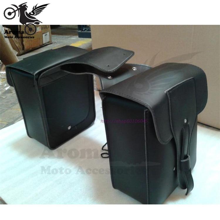 Marca herramienta vintage PU de cuero bolsa de motocicleta bolsas de - Accesorios y repuestos para motocicletas - foto 4