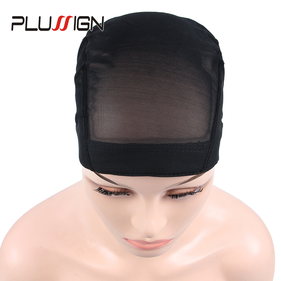 Plussign Unisex Quality Dome Mesh Caps For Making Wigs Wholesale 1PC Stretchable Glueless Hair Weaving Nets Wig Cap For Weave