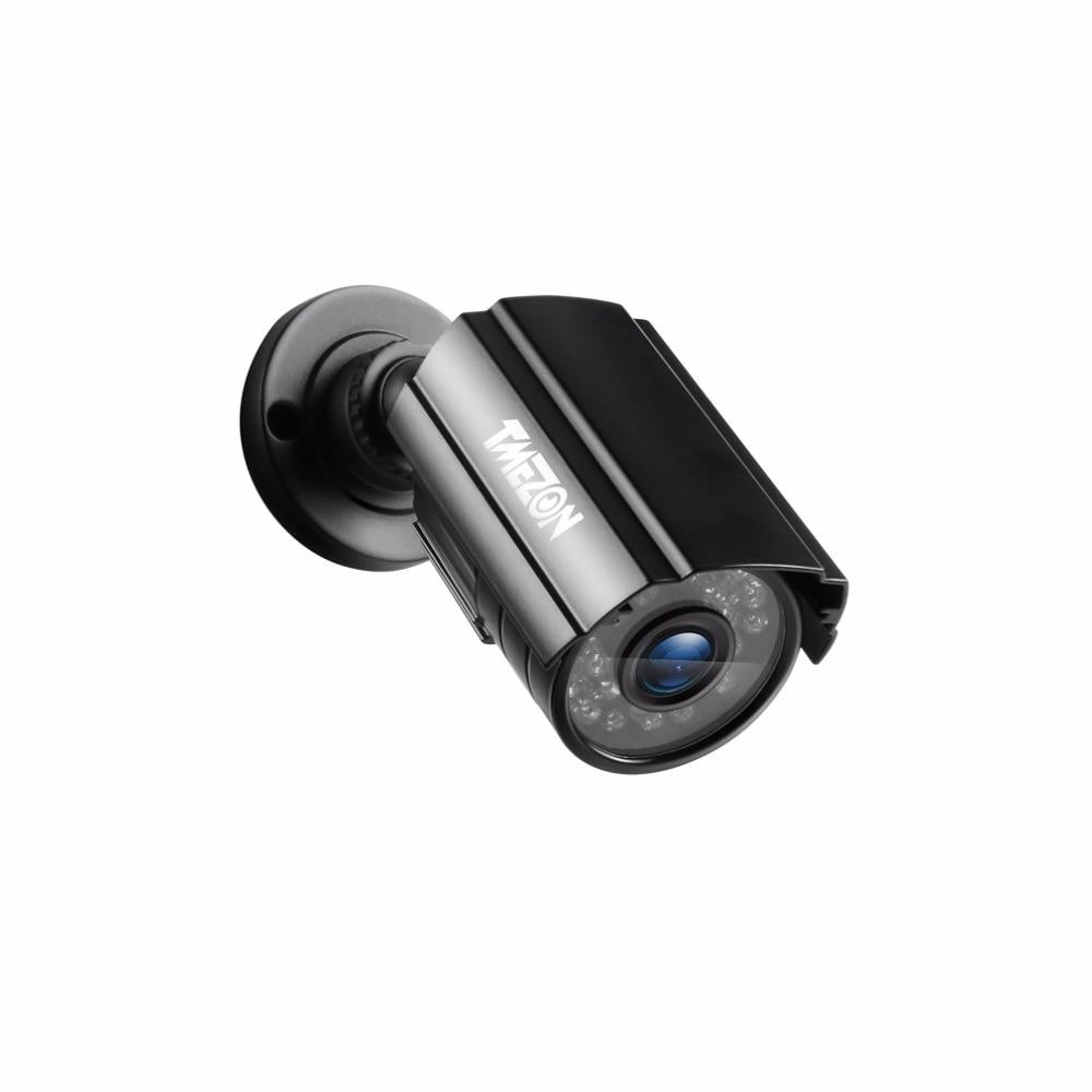 TMEZON 1080P AHD CCTV Camera Day/Night Vision Video Surveillance Indoor Waterproof IR Light Bullet Outdoor Security Camera