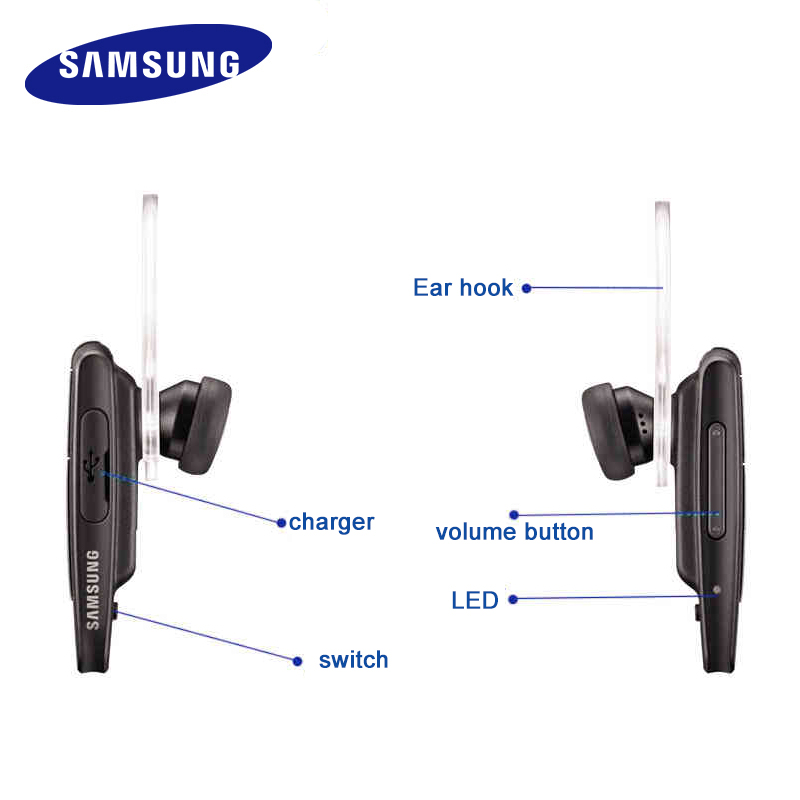 8c864f61e98 100% Original Samsung HM1950 Bluetooth Earphones With Mic In ear Wireless  Headsets Business Headset -in Bluetooth Earphones & Headphones from  Consumer ...