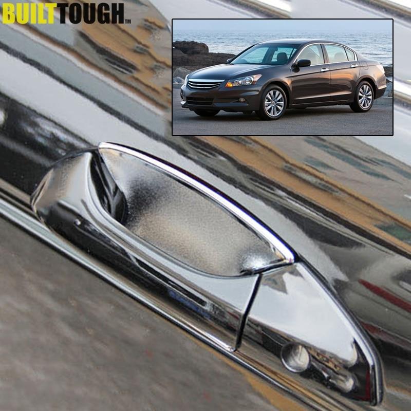 For Nissan Altima 2008-2012 Chrome Exterior Car Door Handle Bowl Cup Cover Trim