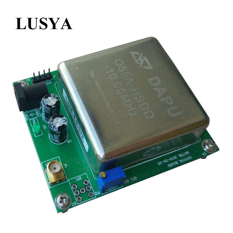 Lusya reference plate 10MHz OCXO constant temperature crystal vibration frequency reference vibration of orthotropic rectangular plate
