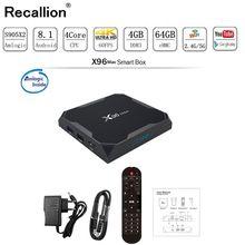 X96Max RECALLION TV BOX Android 8.1 Amlogic S905X2 Quad Core 2GB/4GB 32GB 64GB 2.4G&5GHz Wifi BT 1000M 4K Set top box X96 Max X2 h96 max 4gb 64gb smart android 8 1 tv box 2 4g 5 8g wifi bt 4 0 amlogic s905x2 quad core 4gb 32gb 4k hd set top box pk x96 max