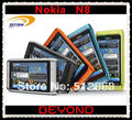 Nokia N8 открынный мобильный телефон N8-00 wi-fi GPS 12MP 3 G GSM смартфон 16 гб внутренний память