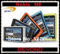 Nokia N8 Original abrió el teléfono móvil N8-00 WIFI GPS 12MP 3 G GSM Smartphone 16 GB de memoria interna dropshipping