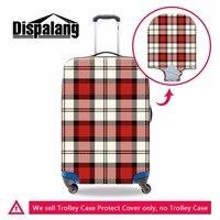 Dispalang chất lượng hàng đầu dày rõ ràng vali bao gồm vải thô mưa covers hành lý chống bụi covers best du lịch phụ kiện s/m/l