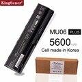 Korea Cell New Battery for HP Pavilion G4 G6 G7 G32 G42 G56 G62 G72 CQ42 CQ43 CQ56 CQ62 CQ72 DM4 DM4T MU06 593553-001 HSTNN-UBOW