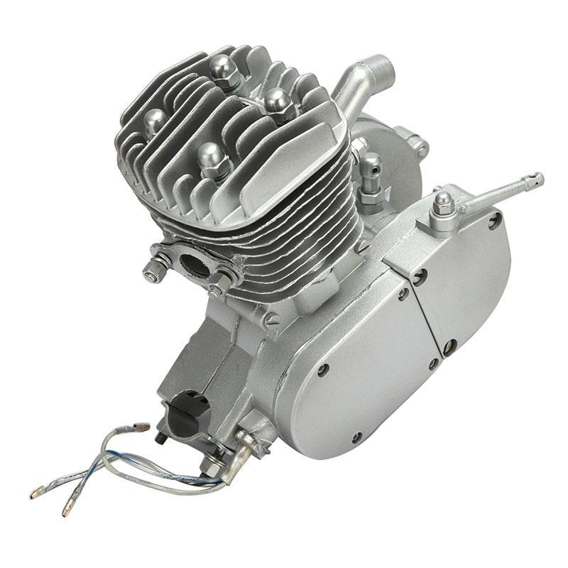 US $221 56 |Single Cylinder 2 stroke Gasoline Motorcycle Engine 80CC 38MPH  Air cooling For Motorized Bicycle Road Bikes Cruisers Choppers-in Engines