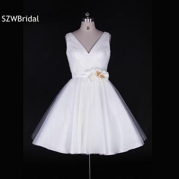 Vestido corto de novia 2019