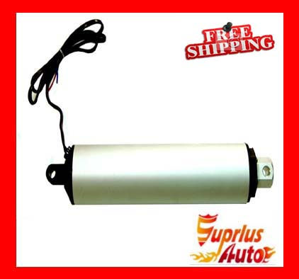 Free Shipping 100mm / 4in Stroke, 200 N Tubular Design, 80mm / sec High Speed DC 12v Linear Actuator -1PCFree Shipping 100mm / 4in Stroke, 200 N Tubular Design, 80mm / sec High Speed DC 12v Linear Actuator -1PC