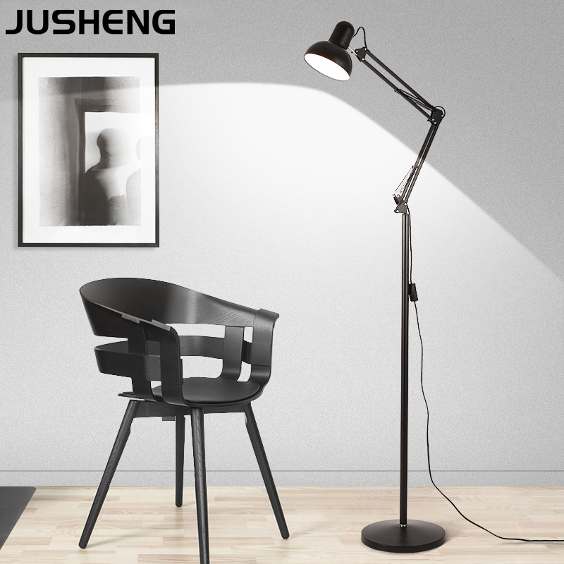 Modern Standing Floor Lamps Study Office Living room bedroom LED E27 Nordic Home Lighting Fixture Bedsides Floor Lamps Night