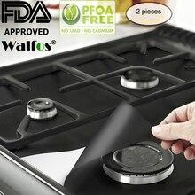 2 шт./компл. газовая плита Плита защитные крышки/вкладыш очистить коврик Одиночная газовая горелка плита протектор Кухня аксессуары