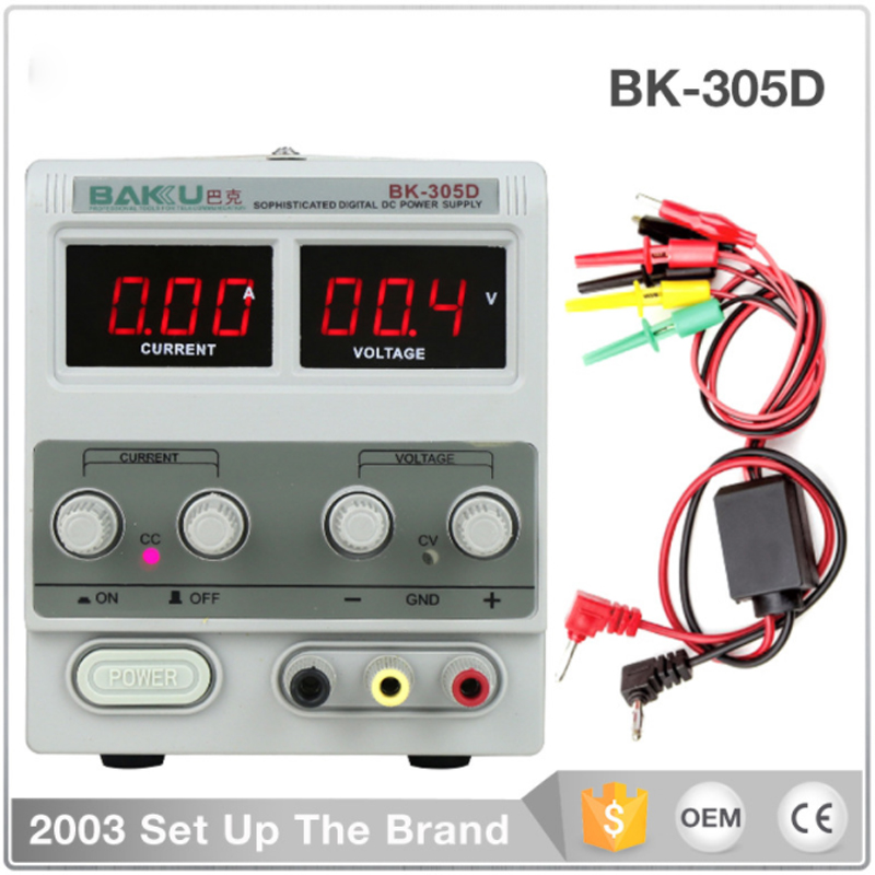 BK-305D DC power supply, notebook/mobile phone repair digital display 30V 5A adjustable free shipping dps 305dm digital dc power supply 30v 5a 0 001a 0 1v programmable mobile phone repair power
