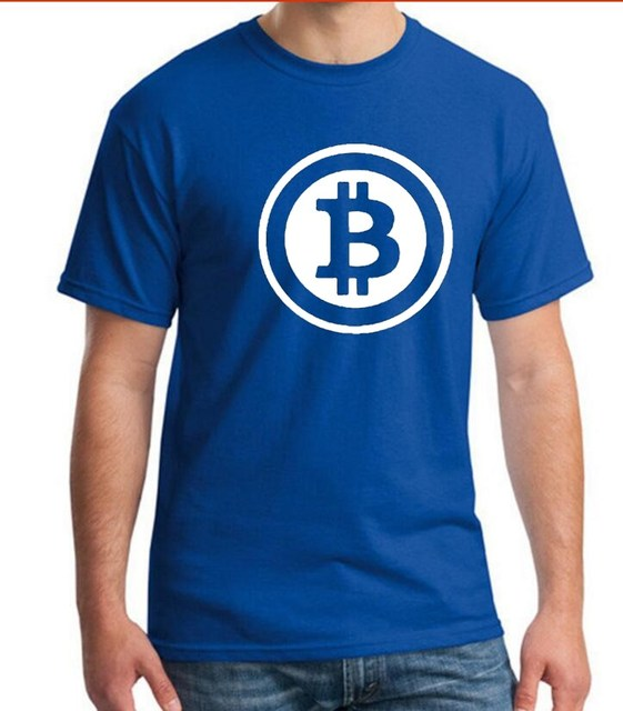 dfe2cf425b0 REM Digital currency Bitcoin Logo Cotton T-shirt Tee SHIRT t shirt Short  Sleeve Sleeve Men