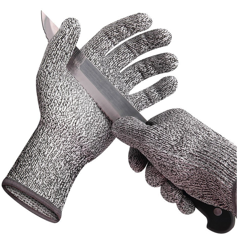 Cut Resistant Gloves Anti-cutting Breathable Work Gloves Kitchen Gloves Level 5 Protection Food Grade Gloves Luva Feminina