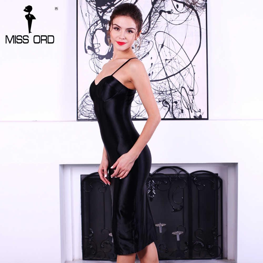 ad59133d7c8 ... Missord 2019 сексуальный бюстгальтер без рукавов Холтер Сплит платье  FT4924 ...