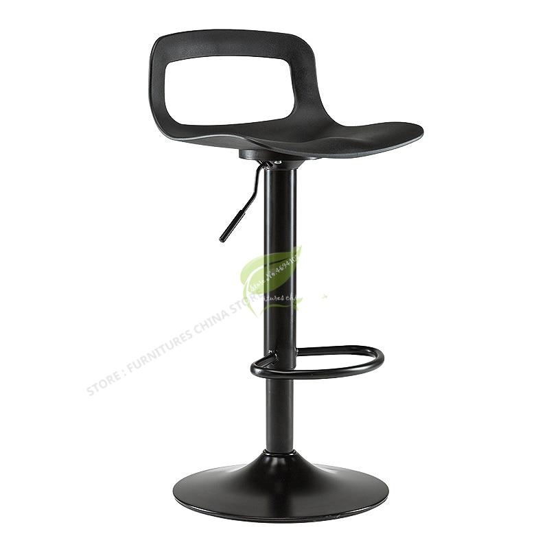 Modern Tabouret De Bar Iron Bar Chair Bar Stool Seat Make Up Chair Dotomy Beauty Salon Furniture Simple Modern