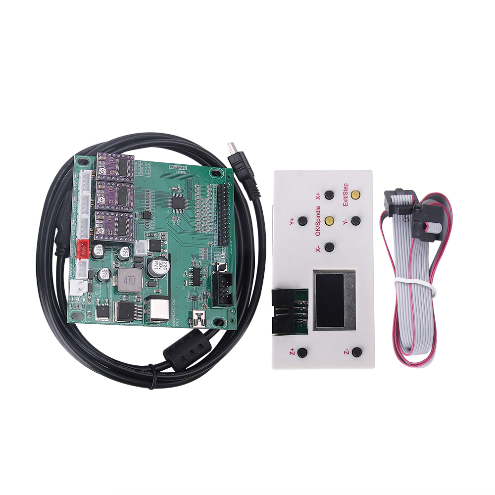 US $20 88 24% OFF|3 axis offline controller board ,GRBL USB port cnc  engraving machine control board for 1610,2418,3018 machine-in CNC  Controller from