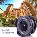 8mm F3.8 fisheye Objektiv C mount Objektiv Weitwinkel Fisch-auge Für Micro Four Thirds Kamera M43 für LUMIX GX8 GX85 G7 E-M5 E-M10II E-PL8
