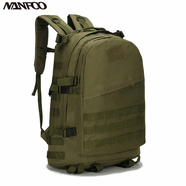 NEW 40L Molle 3D Tactical Outdoor Military Rucksack Backpack ...
