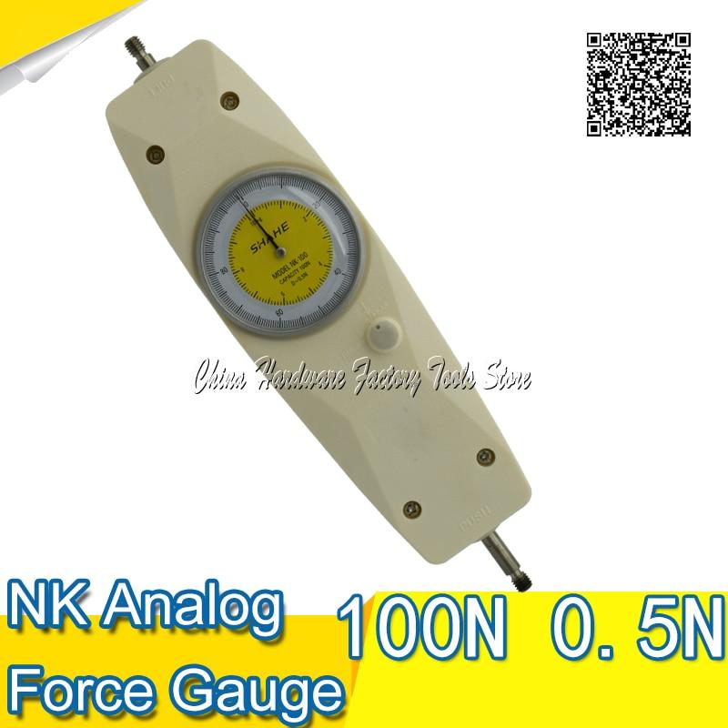 SHAHE  Pointer push voltage meter NK-100 dynamometer new measurement tool power meterSHAHE  Pointer push voltage meter NK-100 dynamometer new measurement tool power meter