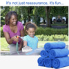 Newest 50pcs 30 40cm Microfiber Car Cleaning Cloth Blue Absorbent Wet Drying Large Soft Polish Dust