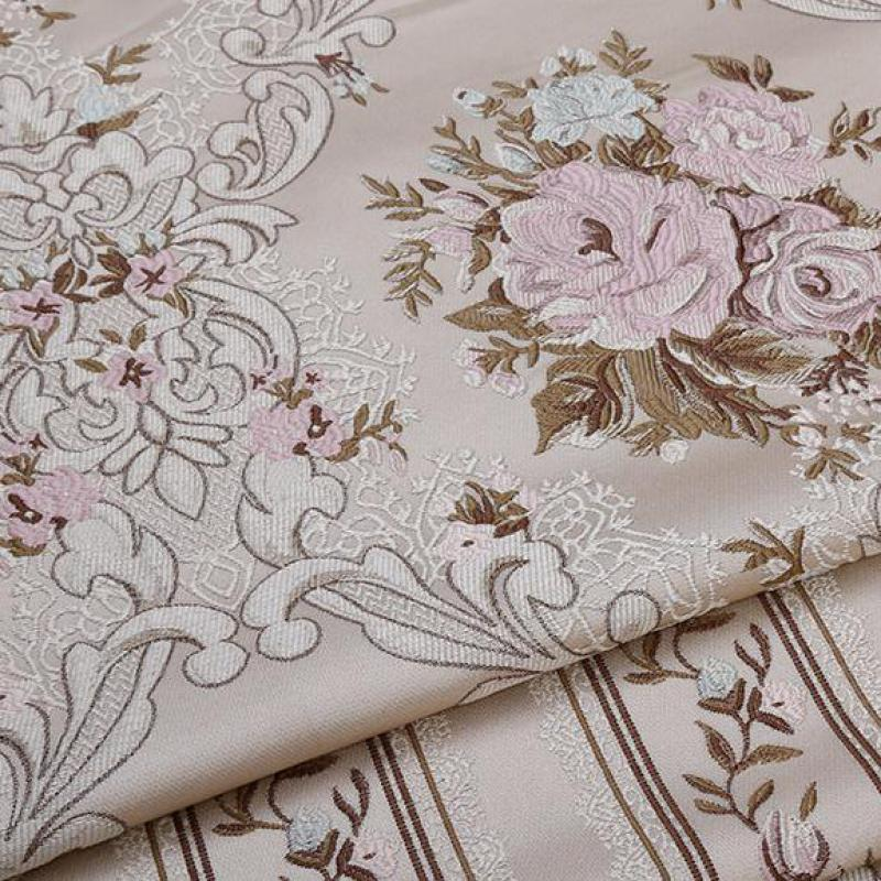275cm Width Floral Fabric High Qulity Sofa Cloth Patchwork Sewing Pillow Cushion Chair Bags Tablecloth Curtains Material Tecidos