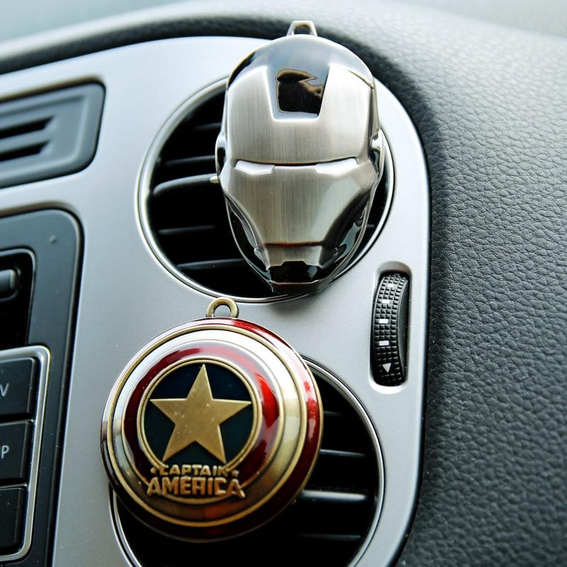 Iron Man Captain America Shield Perfume Original Car