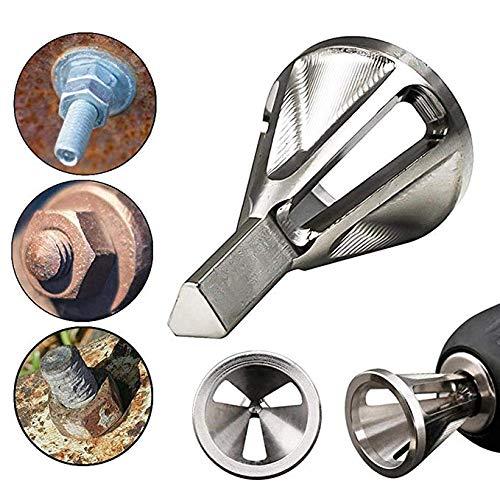 1PCS Deburring External Chamfer Tool Hex Tri shank deburring external chamfer tool Drill Bit Silver Black Drop Shipping