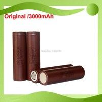 Бесплатная доставка! 50 шт./лот оригинальный 18650 3,6 В INR18650 hg2 3000 мАч непрерывной 20A разряда батареи для LG